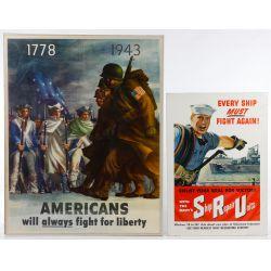View 2: World War II US War Posters