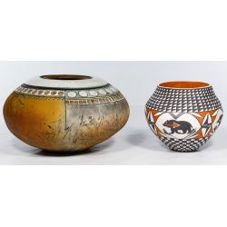 View 4: Native American Pottery Assortment