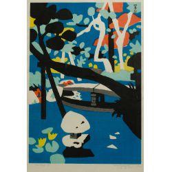 View 4: Japanese Woodcut Prints