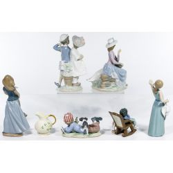 View 2: Lladro Figurine Assortment