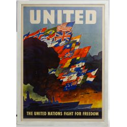 View 3: World War II United Nations War Posters