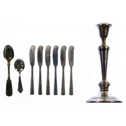 """View 7: State House """"Formality"""" Sterling Silver Flatware"""