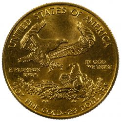 View 2: 1987-W $25 Gold Proof American Eagle
