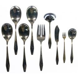 """View 6: State House """"Formality"""" Sterling Silver Flatware"""