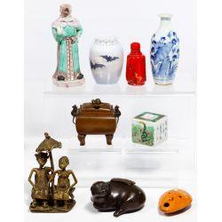 View 2: Asian Decorative Item Assortment