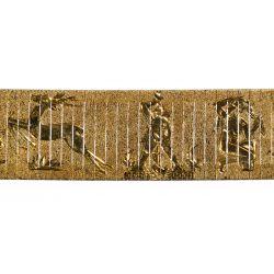 View 3: 14k Gold Wide Bracelet