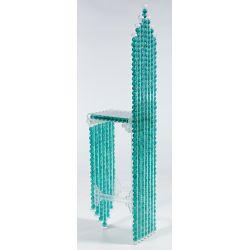 "View 2: Margaret Wharton (American, 1943-2014) ""Marble Chair"" Sculpture"