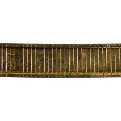 View 6: 14k Gold Wide Bracelet