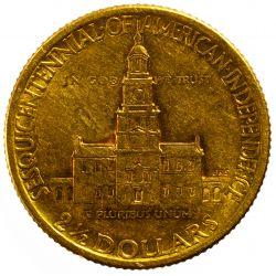 View 2: 1926 $2 1/2 Gold Sesquicentennial