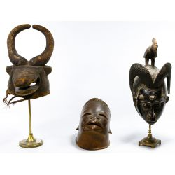 View 3: African Tribal Mask Assortment