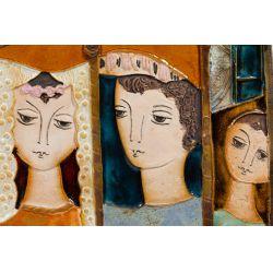 View 2: Ruth Faktorowicz (Israeli, b.1937) Ceramic Tile