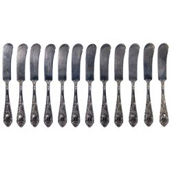 "View 6: International ""Fontaine"" Sterling Silver Flatware Service"
