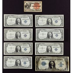 View 2: US and World Currency and Coin Assortment