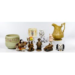 View 4: Pottery and Porcelain Assortment