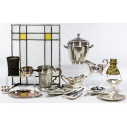 View 3: Silver Plate and Metal Assortment