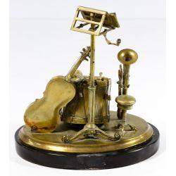 View 3: Musical Instrument Bronze Ink Well
