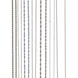 View 2: 14k White Gold and Yellow Gold Necklace Assortment