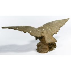 View 2: Eagle Cast Iron Statue