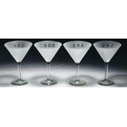 View 2: Adam Brooks (American, b.1959) Martini Glasses