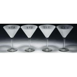 View 3: Adam Brooks (American, b.1959) Martini Glasses