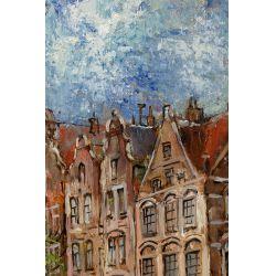 View 2: Walthere Joseph Neuhof (Dutch, 1904-1984) Oil on Canvas