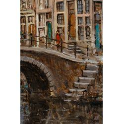 View 3: Walthere Joseph Neuhof (Dutch, 1904-1984) Oil on Canvas