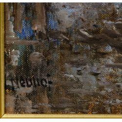 View 4: Walthere Joseph Neuhof (Dutch, 1904-1984) Oil on Canvas