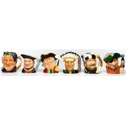 View 2: Royal Doulton Toby Mug Assortment
