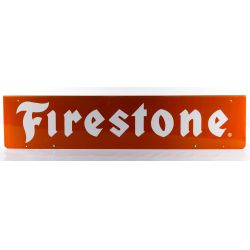 View 2: Firestone Metal Advertising Sign