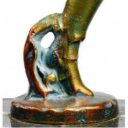 View 5: Gerdago for J B Hirsch Pixie Lamp with Millefiori Shade