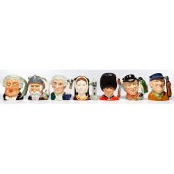 View 4: Royal Doulton Toby Mug Assortment