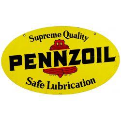 View 2: Pennzoil Enamel Advertising Sign