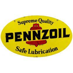 View 3: Pennzoil Enamel Advertising Sign