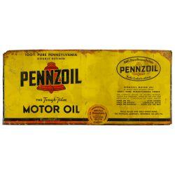 View 4: Pennzoil Enamel Advertising Sign