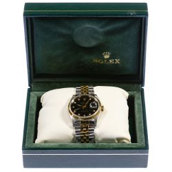 View 2: Rolex 14k Gold and Stainless Steel Wrist Watch