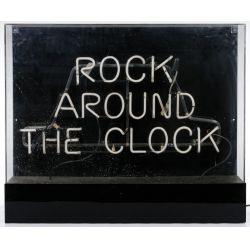 "View 2: ""Rock Around The Clock"" Neon Sign"