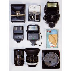 View 3: Camera Accessory Assortment