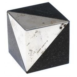 View 3: Jan Lundgren Sterling Silver and Granite Paperweight