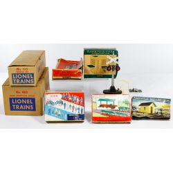 View 3: Lionel and HO Model Train and Aurora Model Motoring Assortment