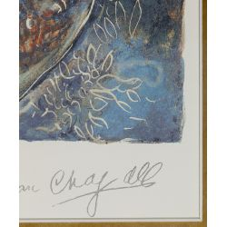 "View 3: Marc Chagall (Russian / French, 1887-1985) ""Bella"" Print"