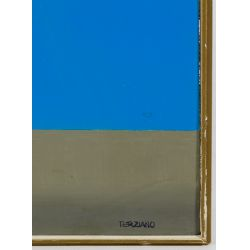 View 4: Terziano (Italian, 20th Century) Oil on Board