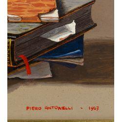 View 3: Piero Antonelli (Italian, 1916-1990) Oil on Board