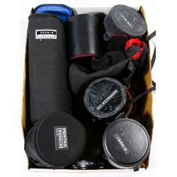 View 4: Pentax Camera Lens and Accessory Assortment