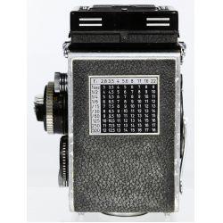 View 6: Rolleiflex DBP DBGM Synchro Compur Franke & Heidecke Camera