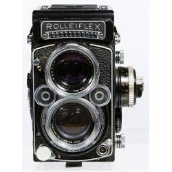 View 4: Rolleiflex DBP DBGM Synchro Compur Franke & Heidecke Camera