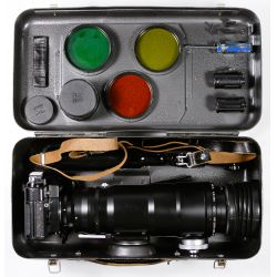View 10: Cold War Soviet Sniper Camera with Accessories