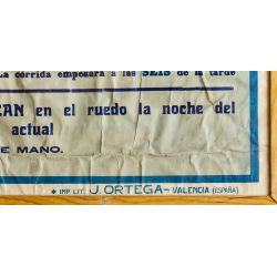 View 4: C. Ruano Llopis (Spanish 1879-1950) Bull Fighting Poster