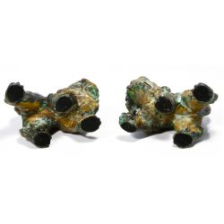 View 3: Asian Style Bronze Fu Dogs