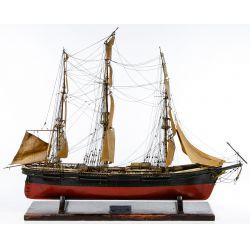 View 2: Wooden Model Sailing Ship Assortment