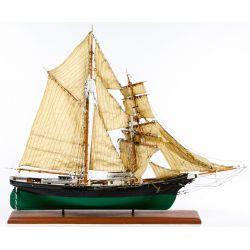 View 3: Wooden Model Sailing Ship Assortment